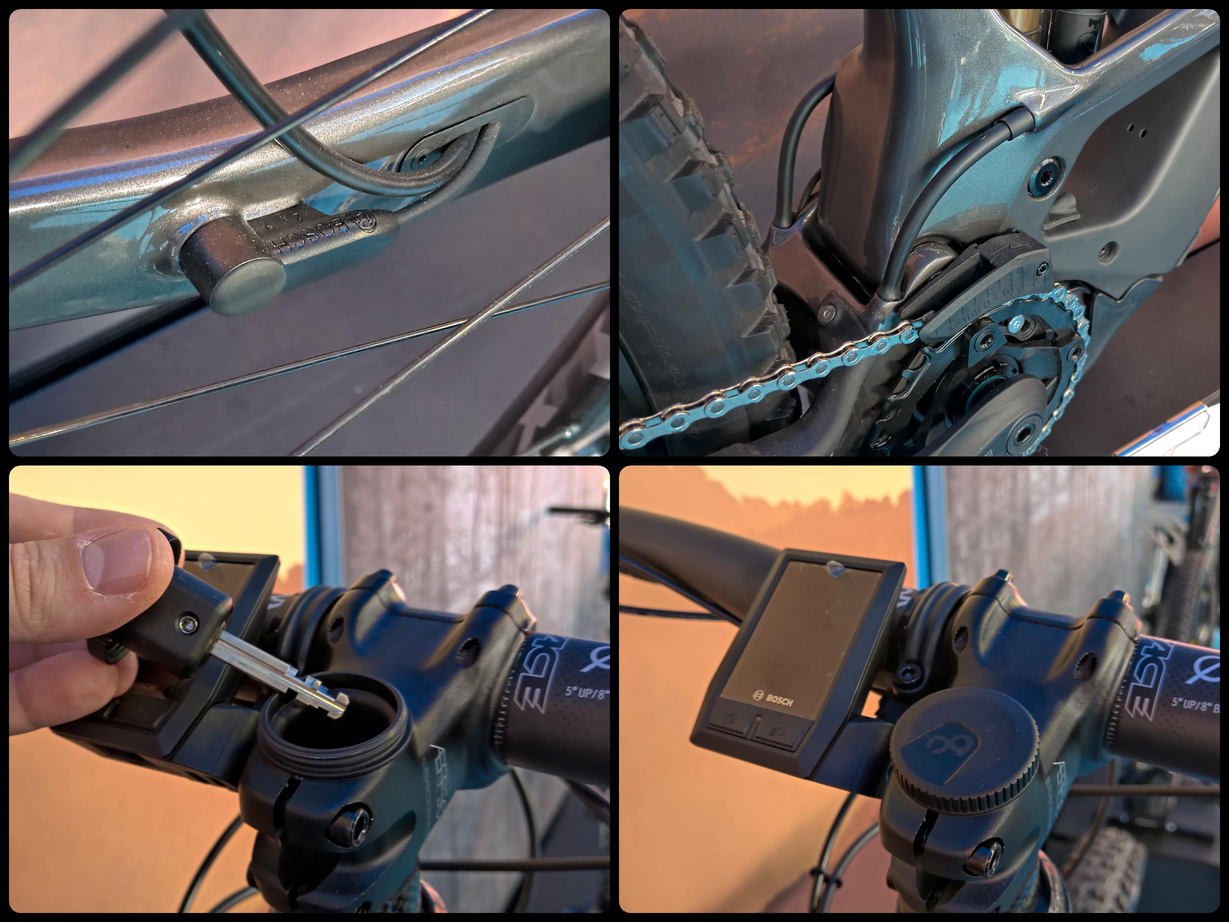 Attacco manubrio +20mm. manopole XLC flatgrip.